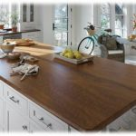 hard wood counter top
