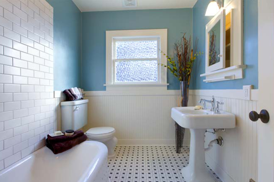 Country style bath